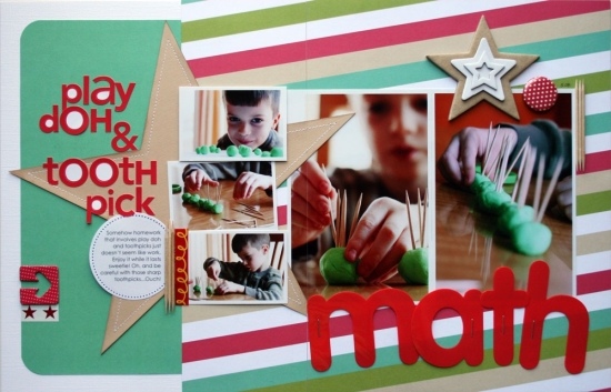 """""""Play Doh & Toothpick Math"""" by Cindy Tobey"""