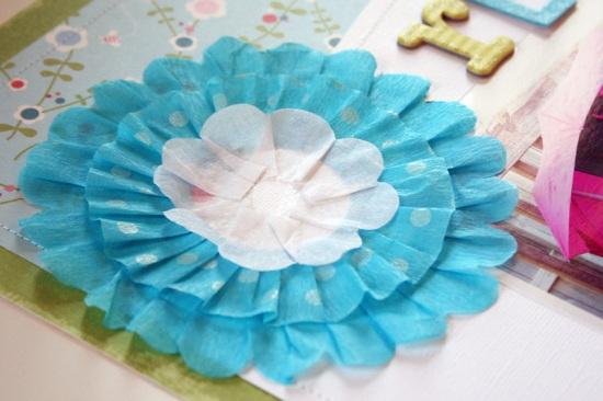 CT-ready crepe flower