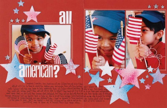 All American by Mou Saha