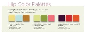 aug color palettes