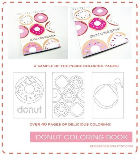 donut-coloring-book