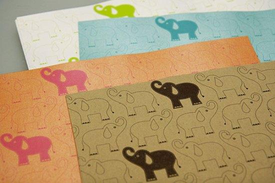 Hambly Elephant Paper