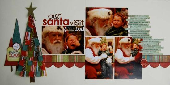 Santa visit gone bad