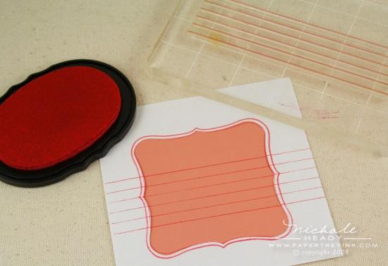 stamping journaling lines