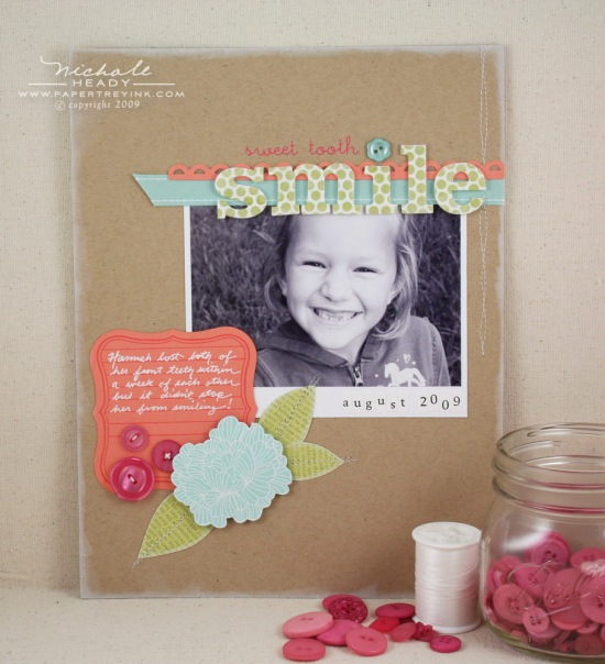 sweet tooth smile layout
