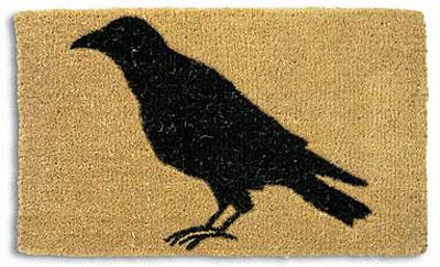 crow-doormat