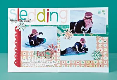 Sledding by Wendy Sue Anderson